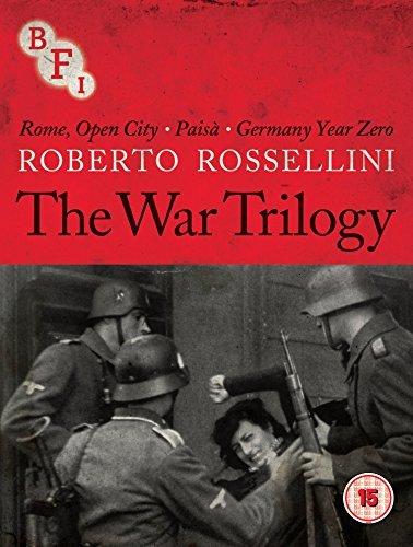 Roberto Rossellini (The War Trilogy) - 3-Disc Box Set ( Roma città aperta / Paisà / Germania anno zero ) ( Rome, Open City / Paisan / German [ Origen UK, Ningun Idioma Espanol ] (Blu-Ray)