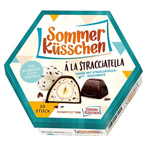 Ferrero Sommer Küsschen Stracciatella mit cermigem Geschmack 182g