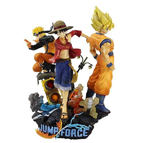28cm Jump Force Dragon Ball Z UNA PIEZA Naruto PVC Figura de acción Luffy Son Goku Figurita de juguete…