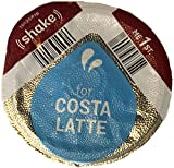 96 x Tassimo Costa Latte 325ml Milk Creamer Pods Only (NO COFFEE DISCS) SOLD LOOSE - New Smaller Disc