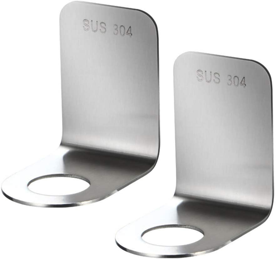 Cabilock 2PCS Stainless Steel Free shipping Max 86% OFF New Shower Gel Bottle Bracke Hook Rack