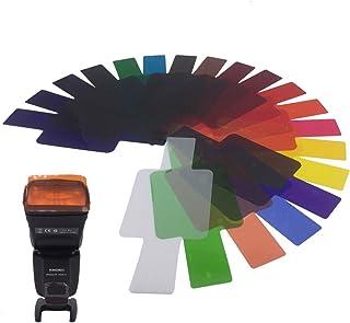 SiGi思界温度过滤器 SG201 闪光 / 闪光灯专用通用型颜色过滤器20枚装