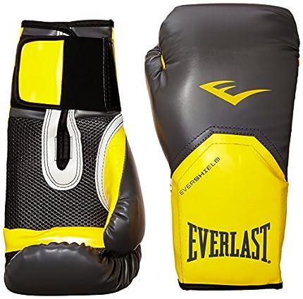 Everlast 2300GR/OR14 - Guante de boxeo elite, color gris/ naranja