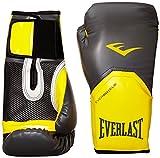 Everlast 2300GR/OR12 - Guante de boxeo elite, color gris/ naranja, 12 onzas