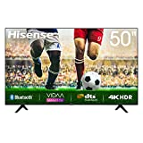 Hisense Uhd TV 2020 50A7100F - Smart TV Resolución 4K, Precision Colour, Escalado Uhd con Ia, Ultra Dimming, Audio Dts Studio Sound, Vidaa U 4.0, Compatible Alexa