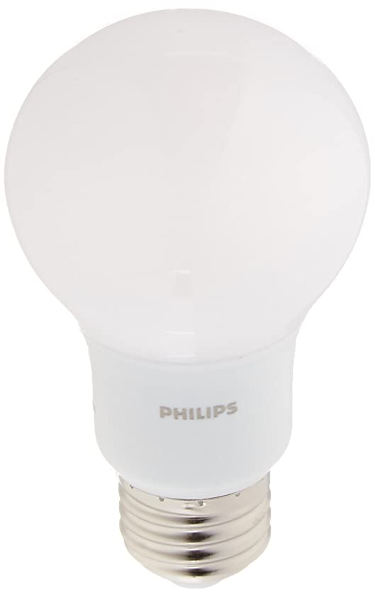 Philips 461160 40W Equivalent Daylight Non-Dimmable A19 LED Light Bulb (4-Pack)