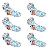 Intex Surf 'N Slide Inflatable Kids Backyard Water Slide w/Surf Riders (6 Pack)