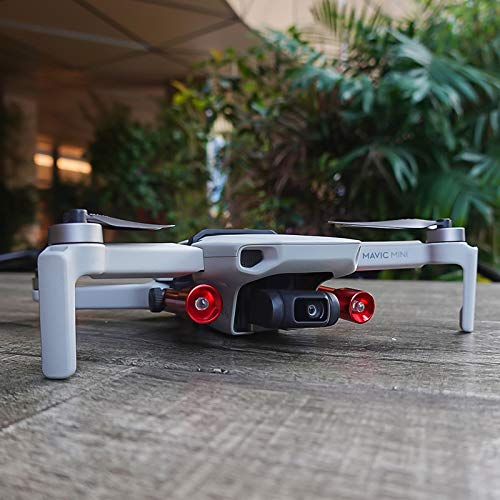 ACHICOO Tragbares Nachtsuchlicht-Set für DJI Mavic Mini Drohne Zubehör LED-Lampenhalter Nachtfluglicht für DJI Mavic Mini