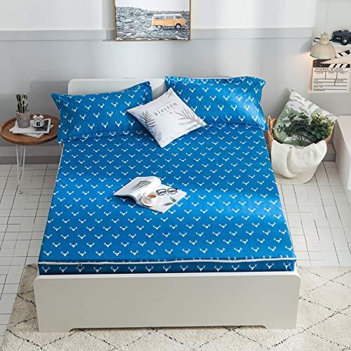 huyiming Verwendet für Bettwäsche Baumwolle Bettbezug Matratzenbezug Druck wasserdicht 120 * 200 + 30