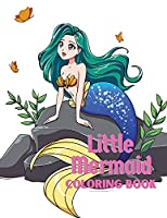 Little mermaid coloring book: Coloring book for kids.