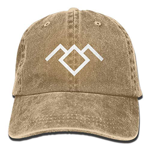Hoswee Baseballmütze Hüte Kappe Twin Peaks Owl Cave Symbol Unisex Truck Baseball Cap Adjustable Hat Military Caps