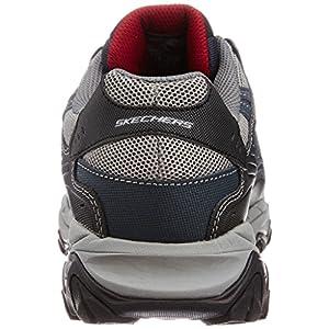 Skechers Sport Men's Afterburn Memory Foam Lace-Up Sneaker, Navy, 9.5 M US