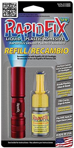 RapidFix UV Liquid Plastic Adhesive 10ml Single Pack Refill