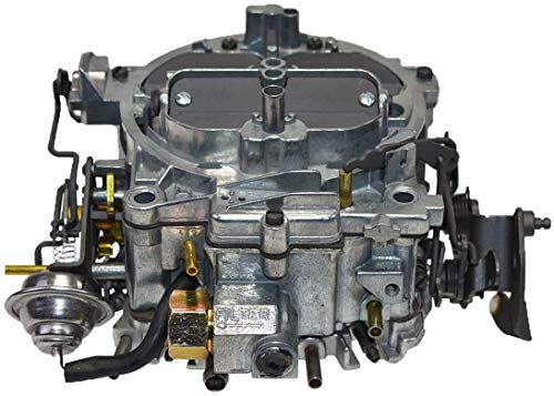 A-Team Performance 1902R Remanufactured Rochester Quadrajet Carburetor 750 CFM 4MV Compatible With 1974-1978 GM Chevrolet Chevy Carb