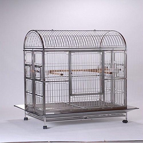 Bird | Caitec Featherland Alexandria Bird Cage, 28″ L X 42″ W X 66″ H, Gym exercise ab workouts - shap2.com