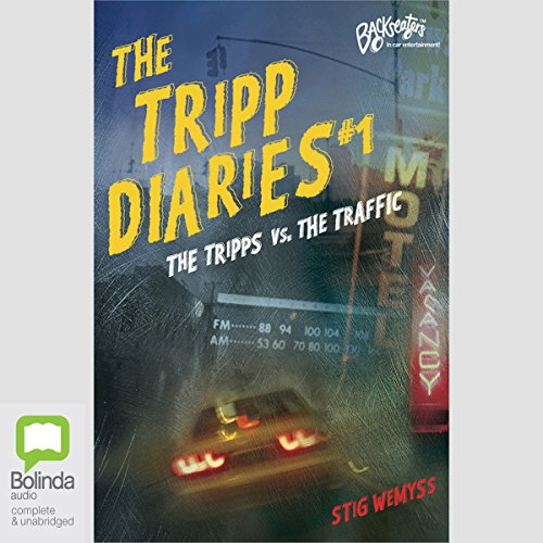 The Tripp Diaries #1 audiobook cover art