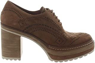 Pons quintana Luxury Fashion Womens 8103006BROWN Brown Lace-Up Shoes | Fall Winter 19