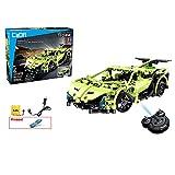 Coche de control remoto 2,4 GHz juego de construcción 453 ,Stem Toy, construcción técnica, RC Racing Car colección Engineering Road Set Kits para niños y niñas