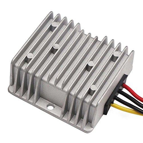 Vkospy Feuchtigkeitsbeständig 48V bis 24V 10A 15A 240W Spannung Reducer DC Step Down Converter 30-60V 24V 10A DC Buck Converter