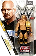 WWE Basic Series Then Now Forever Stone Cold Steve Austin Exclusive Action Figure (with World Heavyweight Championship Belt)