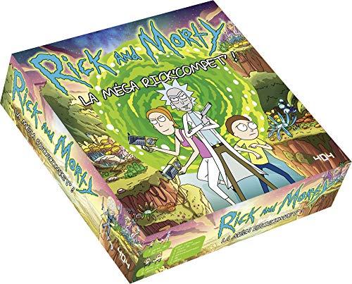 Rick et Morty : La méga Rick'Compet' ! - Jeu de société/jeu de plateau officiel - Dès 16 ans et adulte