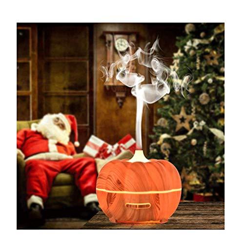 WYLYD Aroma Diffuser, 500ML Luftbefeuchter Pumpkin Design/Raumbefeuchter Ultraschall mit 7 LED Farbwechsel Fuer für Wohnzimmer, Kinderzimmer, Schlafzimmer, Baby, SPA, Büro