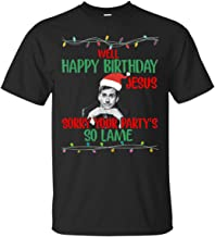 Michael Scott Well Happy Birthday Jesus Sorry Your Party's so Lame Ultra Cotton T-Shirt