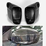 for nissan R35 GTR Carbon car accessories rear view side door Mirror Frame Shell Replacement