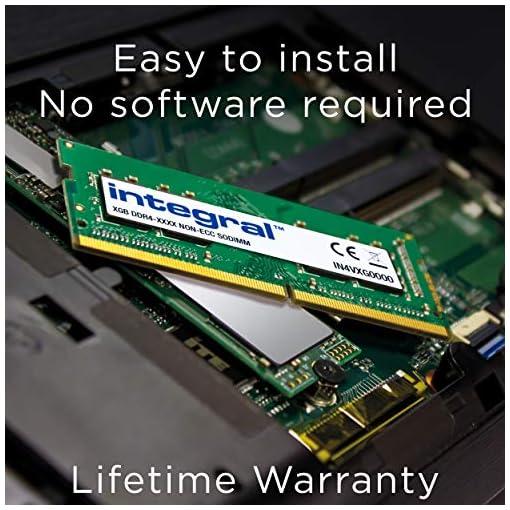 Integral Memory - Memoria DDR4 de 8 GB, SODIMM 2666 MHz, PC4-21300, 260 Pines, Kit de Memoria para Ordenador portátil 4