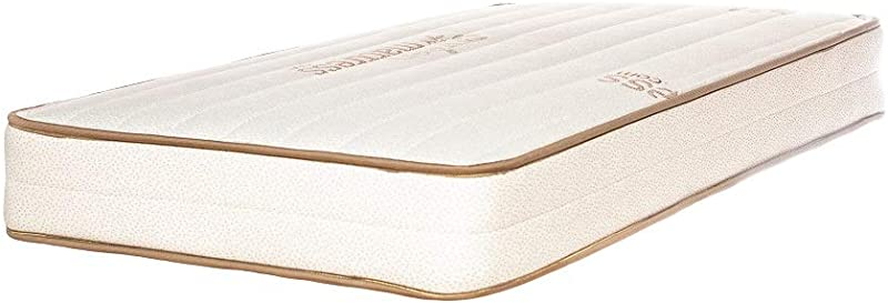Emily Crib Mattress GOTS Organic Cotton And Natural Eco Wool Two Sided Made In USA By My Green Mattress