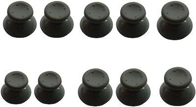 Yueton Lot de 10 Boutons pour Manette Microsoft Xbox 360 Gris