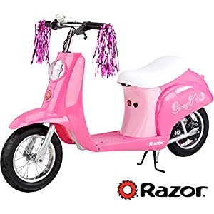 Razor Pocket Mod Miniature Euro Electric Scooter – Sweet Pea