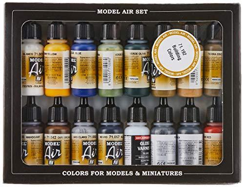 Vallejo Model Air - Set di Colori Acrilici per Aerografo, Multicolore