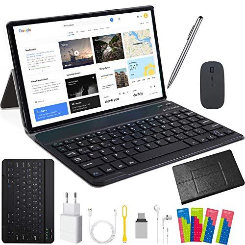 Tablet 10 Zoll Android 32GB rom+3GB ram (720p/1080p Full HD-Display) 4G Dual-SIM/SD, Tablets Quad...