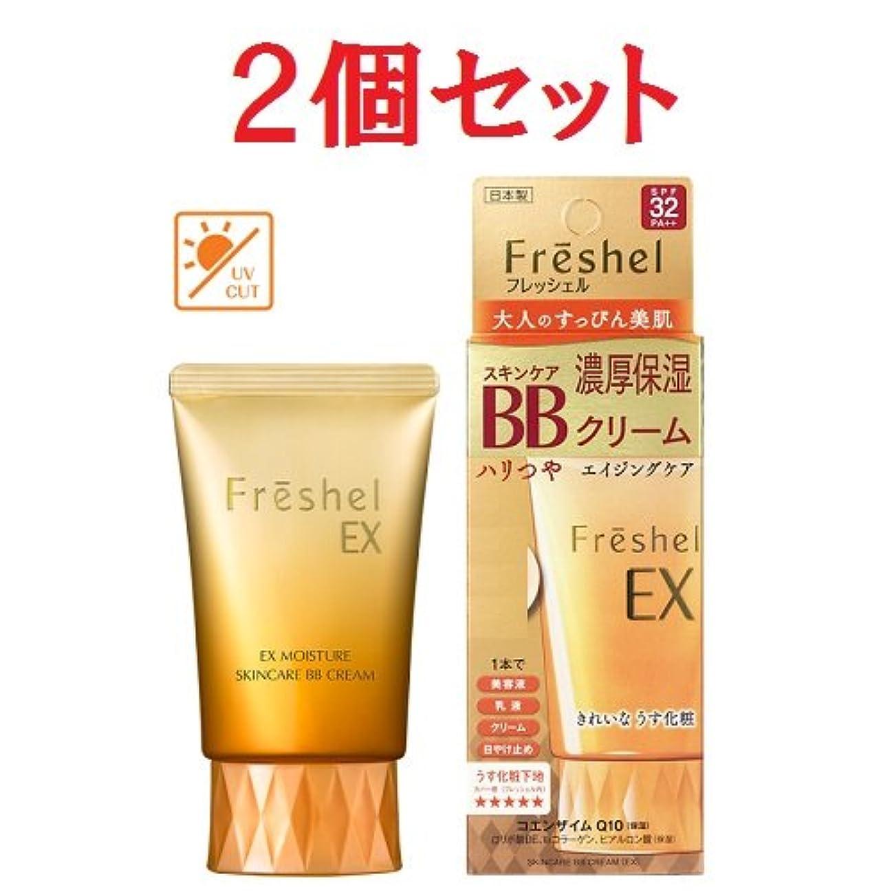 褐色有効エイリアス2個セット フレッシェル スキンケア BBクリーム EX 50g MB