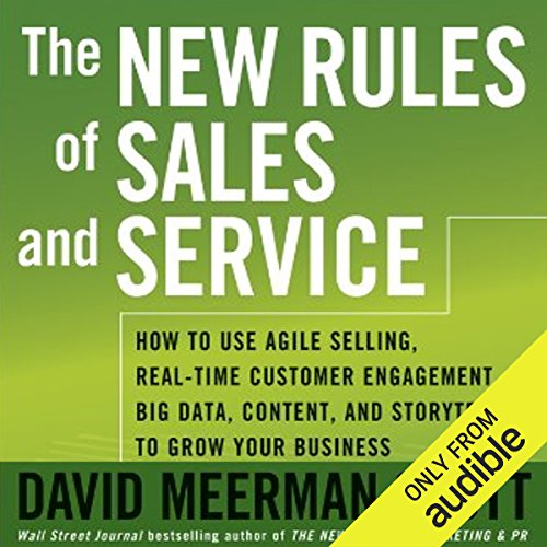 The New Rules of Sales and Service audiobook cover art