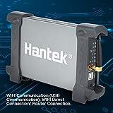 Hantek Osciloscopio IDSO1070A WiFi de 2 canales AC100-230V 70MHz 250MSa / s Mini osciloscopio WiFi para tel¨¦fono (enchufe de la UE)
