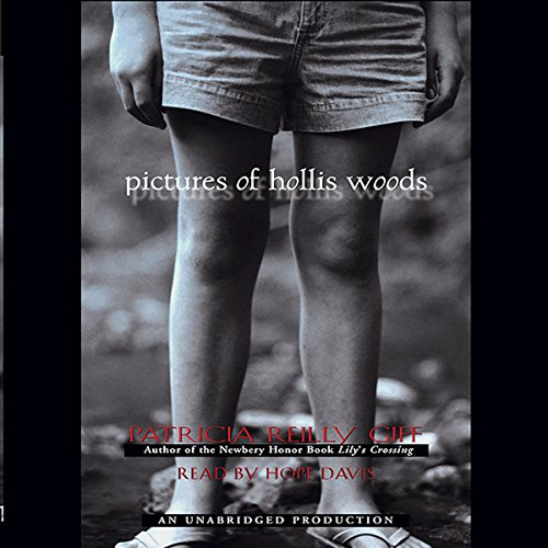 Pictures of Hollis Woods audiobook cover art