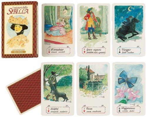 Dal Negro 43003 I Misteri Della Sibilla - Juego de Cartas (versión en Italiano, Ilustraciones de E. Maiotti)