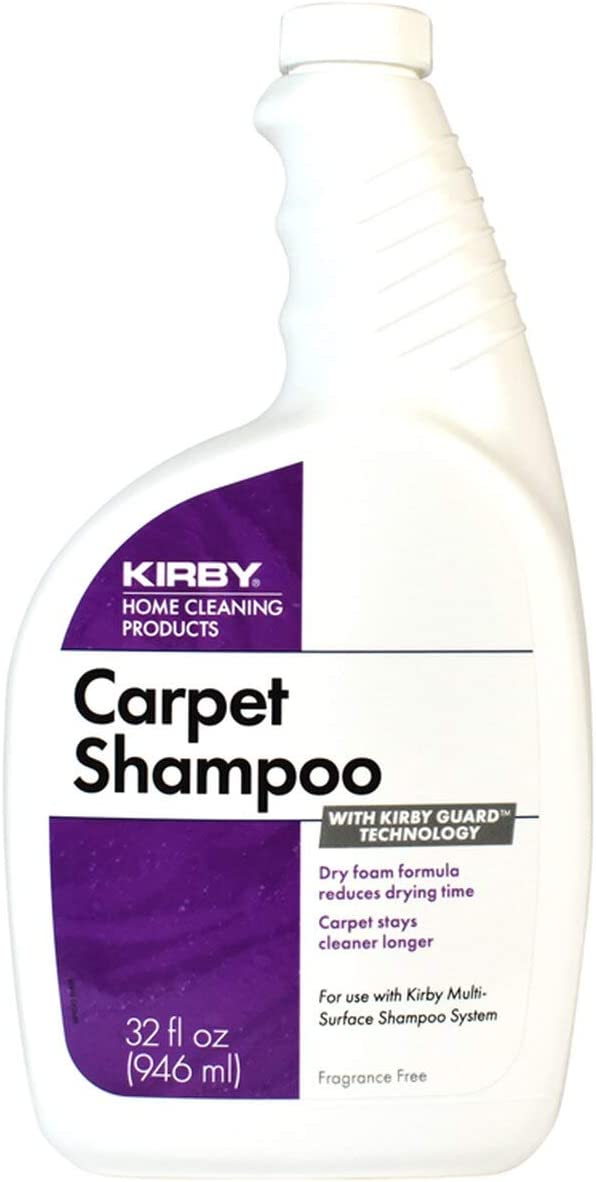 Genuine Kirby price Max 82% OFF Foaming Carpet Part Unscented Shampoo 32oz