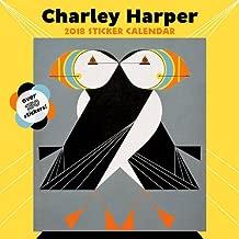 Charley Harper 2018 Sticker Wall Calendar