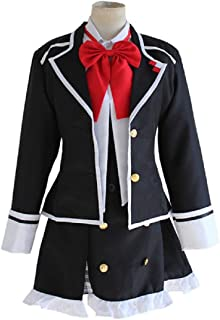 DiabolikLovers Yuikomori Gakuen School Dress Clothing Game Cosplay Costume