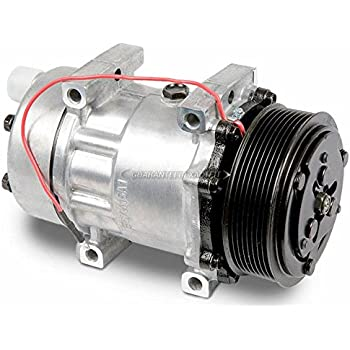 BuyAutoParts 60-02168NA NEW AC Compressor /& 8-Groove 123mm A//C Clutch Replaces Tama TM-16 12v Diesel Kiki 46120