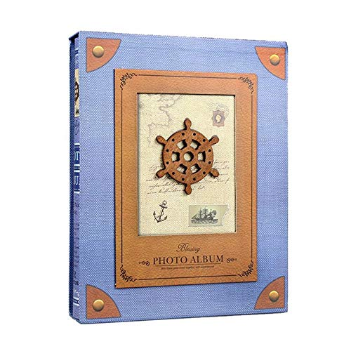apromay 7 Zoll 200 Pocket Insert Fotoalbum, Baby Scrapbook Papier Clip Art Alben, Sammlung Hochzeit Familie Boxed Alben