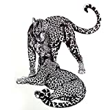 Hot 3d Leopard Temporary Tattoo Stickers Head Tattoo 2115 Sexy products Cool Beauty Tattoo Waterproof Girl Panther sticker