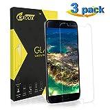 CRXOOX Verre Trempé pour Samsung Galaxy S7, [3 Pièces] Film de Protection d'Écran Verre Trempé Transparent, 3D Touch...