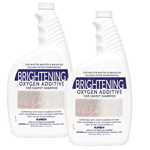 Kirby 32oz. Brightening Oxygen Additive for carpet shampoo (2 bottles) Genuine