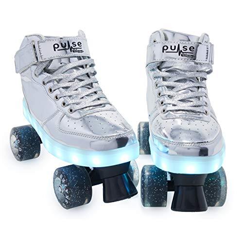 CHICAGO Skates Pulse Light Up Quad Skates, Women's Adult Sizes