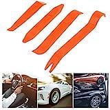 MachinYeser Auto Car Radio Panel Panel Clip de la Puerta Panel Trim Dash Eliminación de Audio Instalador Pry Repair Tool Set 4pcs portátil Práctico (Color: Naranja)