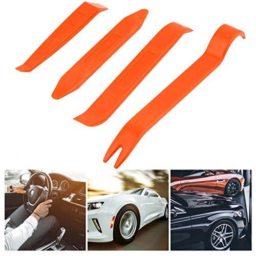 MachinYesity Auto Car Radio Pannello Porta Clip Pannello Trim Dash Audio Rimozione Installer Pry Repair Tool Set 4pcs Pratico Portatile (Colore: Arancione)